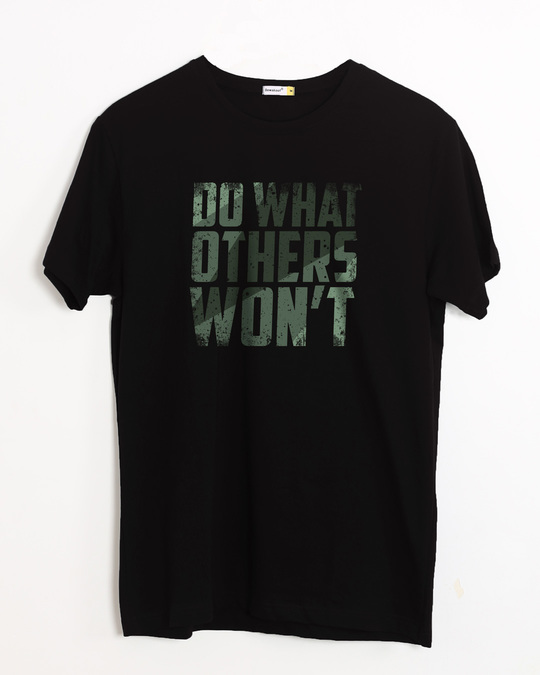 Shop Do What Half Sleeve T-Shirt-Front