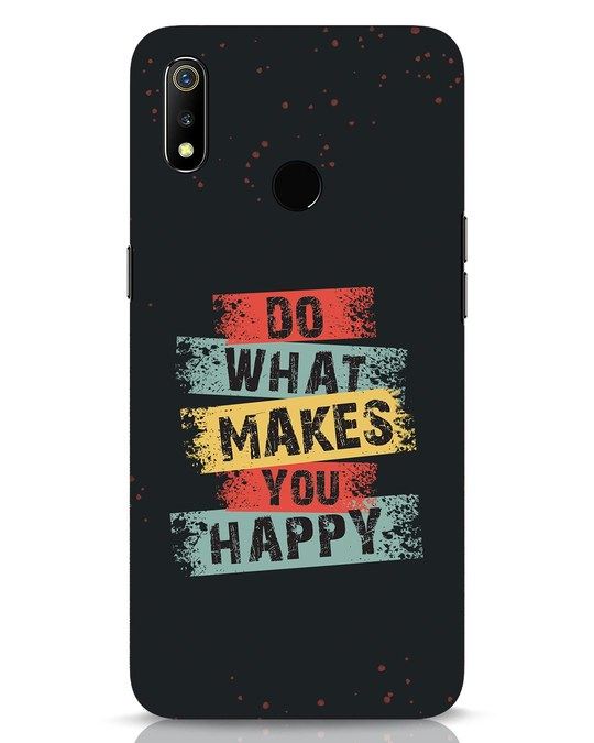 Shop Do What Realme 3 Mobile Cover-Front