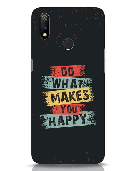 Shop Do What Realme 3 Pro Mobile Cover-Front