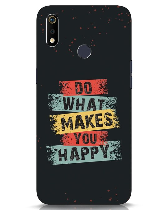Shop Do What Realme 3i Mobile Cover-Front