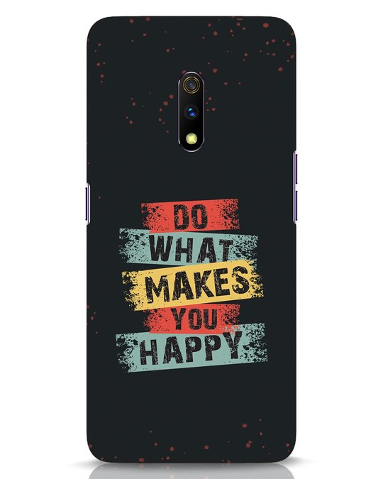 Shop Do What Realme X Mobile Cover-Front