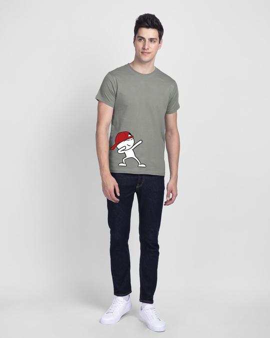 Shop Doe Bolt Half Sleeve T-Shirt-Design