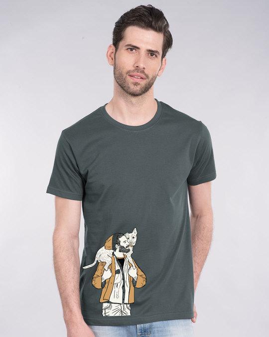 Shop Dog Lover Half Sleeve T-Shirt-Back