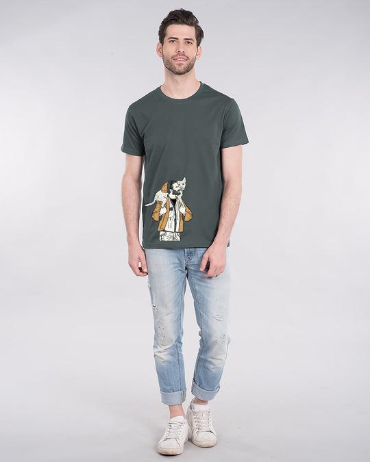 Shop Dog Lover Half Sleeve T-Shirt-Full