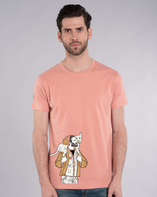 Shop Dog Lover Half Sleeve T-Shirt-Back