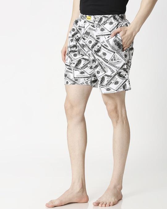 Shop Dolla Sign Side Pocket Men's Boxers-Design