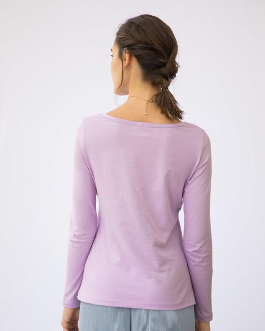 Shop Don't Bug Me Scoop Neck Full Sleeve T-Shirt-Back