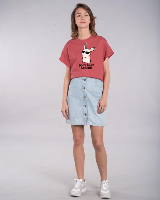 Shop Don't Fluff With Me Boyfriend T-Shirt-Full