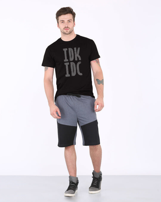 Shop Don't Know Don't Care Half Sleeve T-Shirt