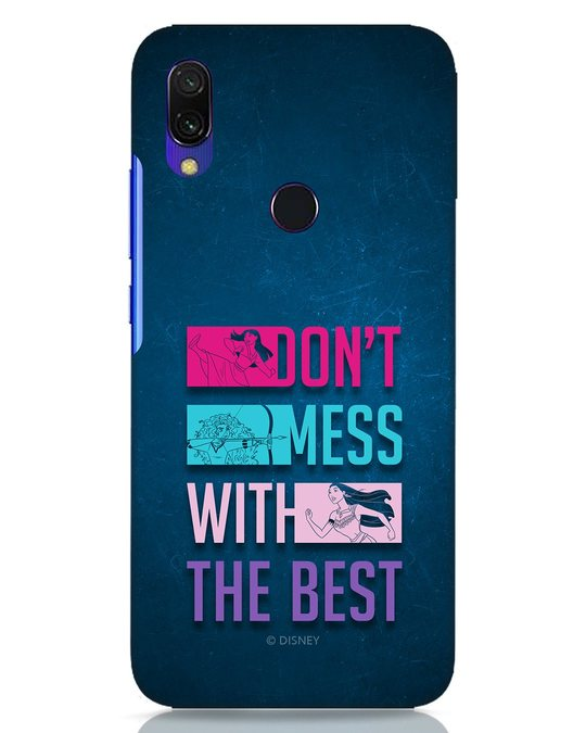 Shop Don't Mess With The Best Xiaomi Redmi Y3 Mobile Cover (DL)-Front