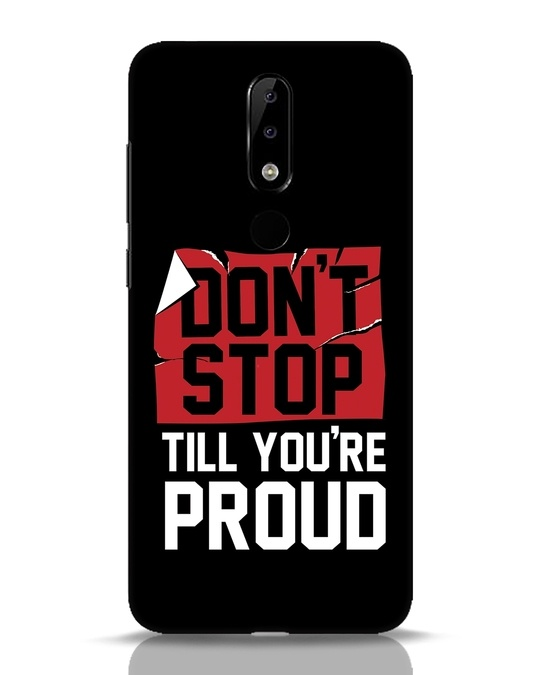 Shop Don't Stop Nokia 5.1 Plus Mobile Cover-Front