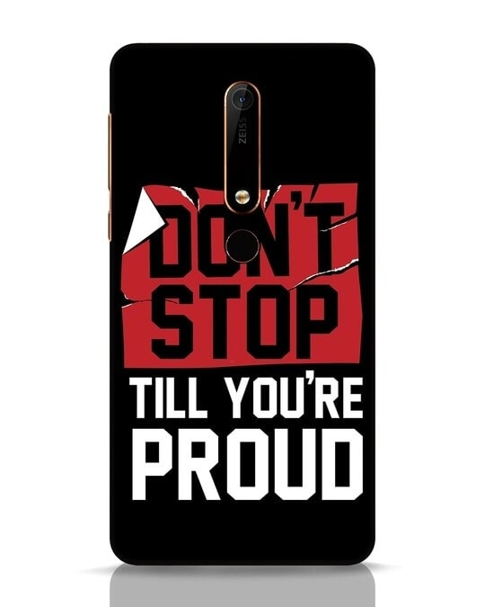 Shop Don't Stop Nokia 6.1 Mobile Cover-Front