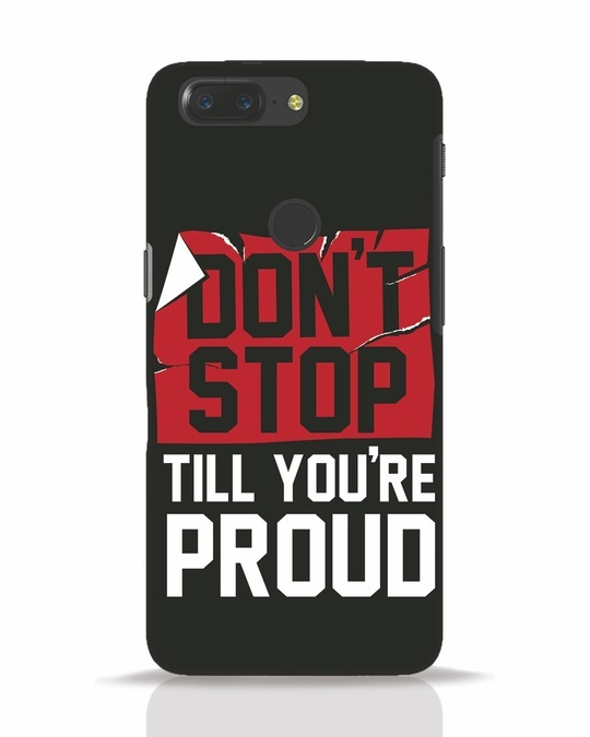 Shop Don't Stop OnePlus 5T Mobile Cover-Front