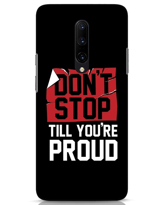 Shop Don't Stop OnePlus 7 Pro Mobile Cover-Front