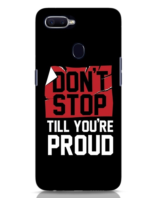 Shop Don't Stop Oppo F9 Pro Mobile Cover-Front