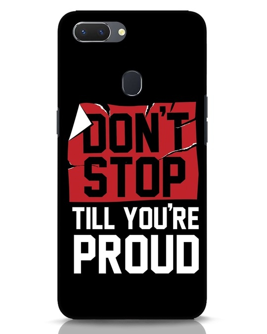 Shop Don't Stop Realme 2 Mobile Cover-Front