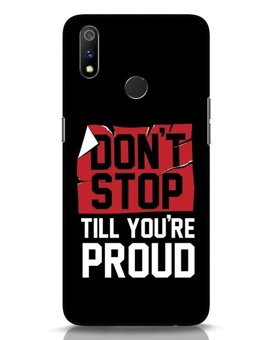 Shop Don't Stop Realme 3 Pro Mobile Cover-Front
