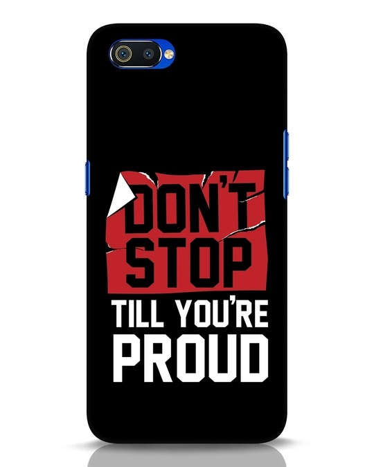 Shop Don't Stop Realme C2 Mobile Cover-Front