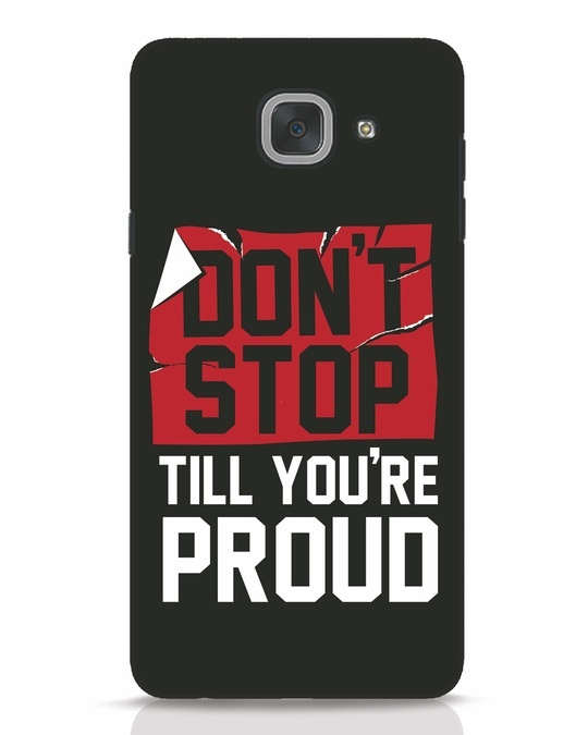 Shop Don't Stop Samsung Galaxy J7 Max Mobile Cover-Front