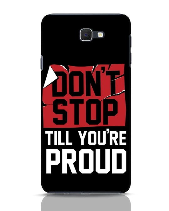 Shop Don't Stop Samsung Galaxy J7 Prime Mobile Cover-Front