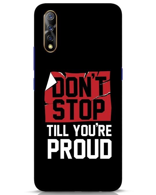 Shop Don't Stop Vivo S1 Mobile Cover-Front