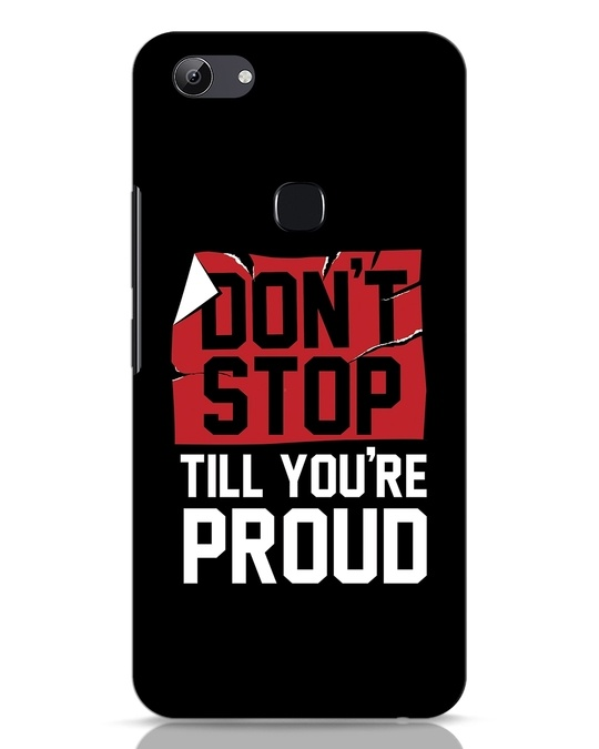 Shop Don't Stop Vivo Y83 Mobile Cover-Front