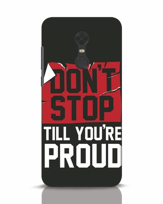 Shop Don't Stop Xiaomi Redmi Note 5 Mobile Cover-Front