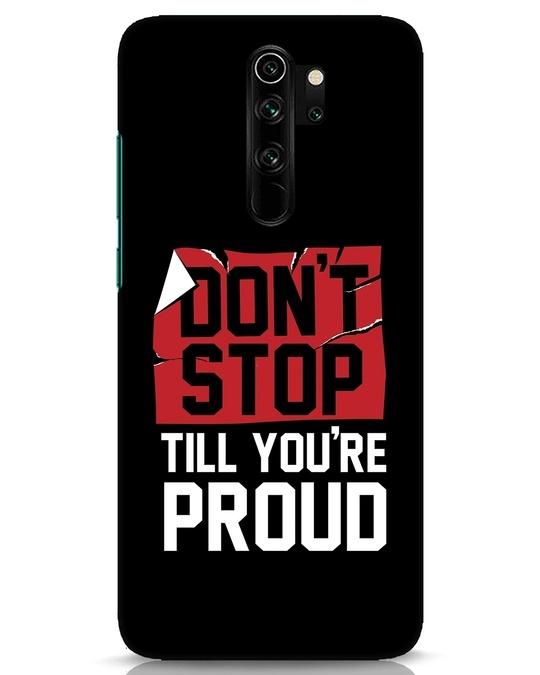 Shop Don't Stop Xiaomi Redmi Note 8 Pro Mobile Cover-Front