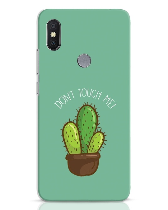 Shop Don't Touch Me Xiaomi Redmi Y2 Mobile Cover-Front