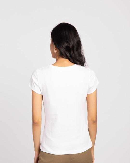 Shop Don'tgiveaflock Half Sleeve T-Shirt-Back