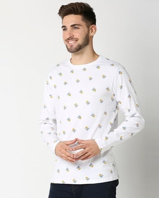 Shop Donald Duck AOP Full Sleeves T-Shirts-Design