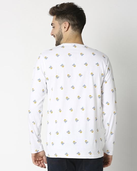 Shop Donald Duck AOP Full Sleeves T-Shirts-Full
