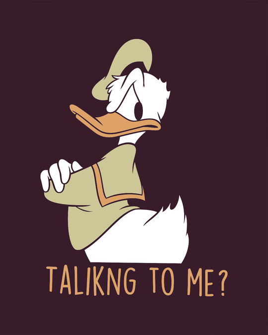 Shop Donald Talking To Me Sweatshirt (DL)