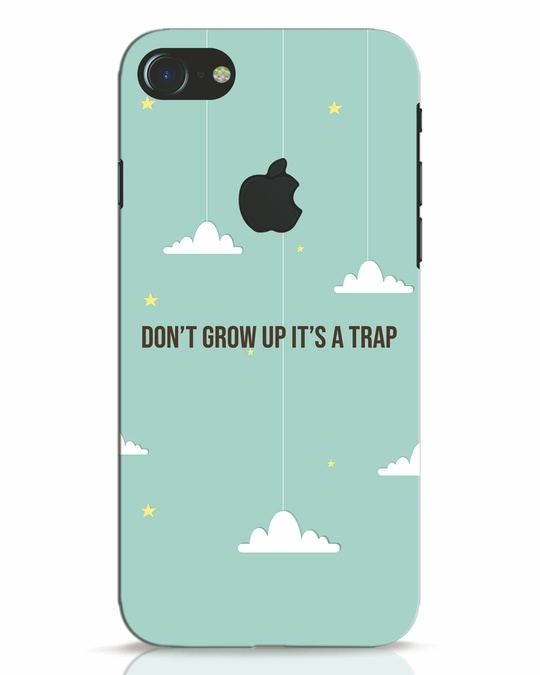 Shop Dont Grow Up iPhone 7 Logo Cut Mobile Cover-Front