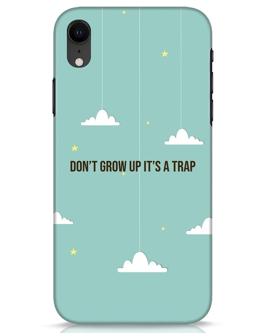 Shop Dont Grow Up iPhone XR Mobile Cover-Front