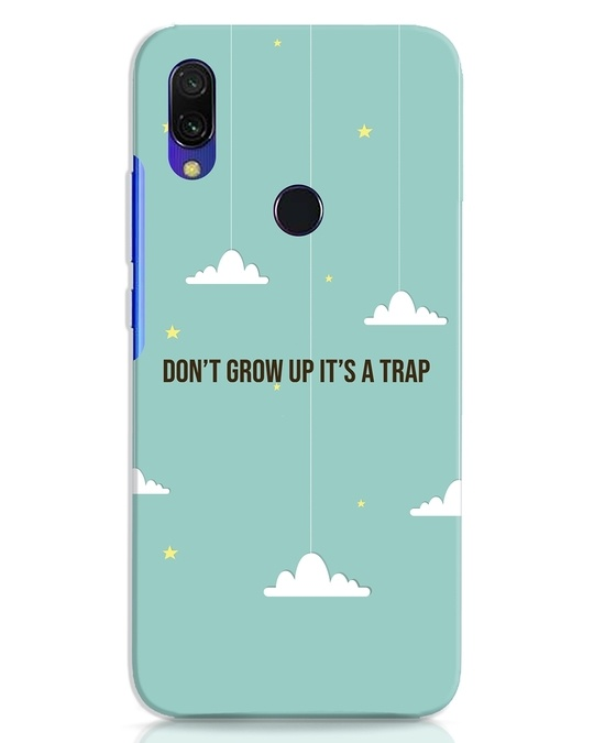 Shop Dont Grow Up Xiaomi Redmi 7 Mobile Cover-Front