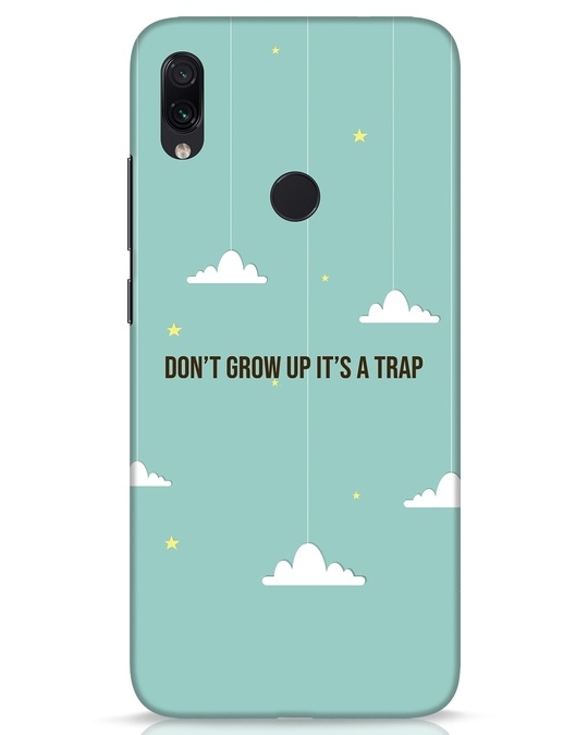 Shop Dont Grow Up Xiaomi Redmi Note 7s Mobile Cover-Front