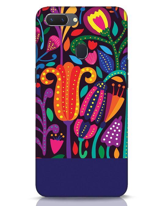 Shop Doodle Flowers Realme 2 Mobile Cover-Front
