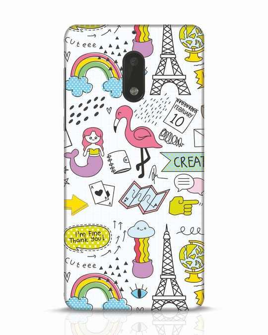 Shop Doodle Nokia 6 Mobile Cover-Front