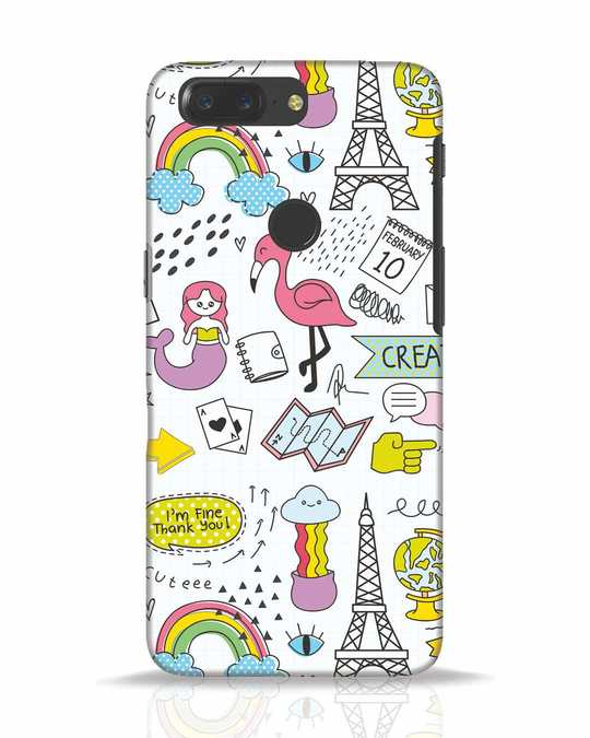 Shop Doodle OnePlus 5T Mobile Cover-Front