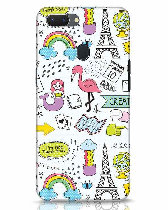 Shop Doodle Realme 2 Mobile Cover-Front