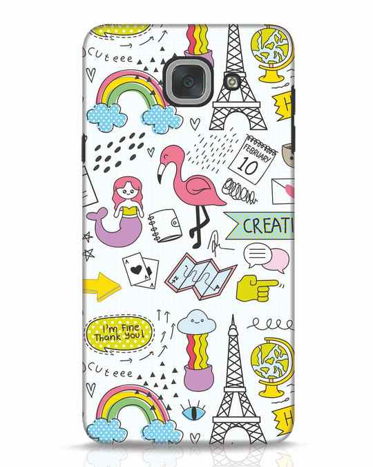 Shop Doodle Samsung Galaxy J7 Max Mobile Cover-Front