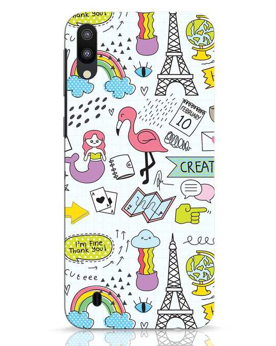 Shop Doodle Samsung Galaxy M10 Mobile Cover-Front
