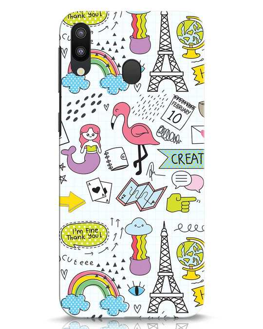 Shop Doodle Samsung Galaxy M20 Mobile Cover-Front