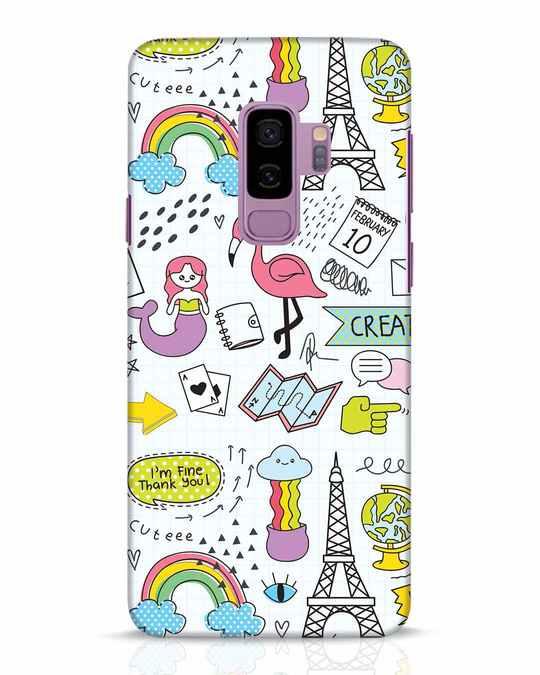 Shop Doodle Samsung Galaxy S9 Plus Mobile Cover-Front