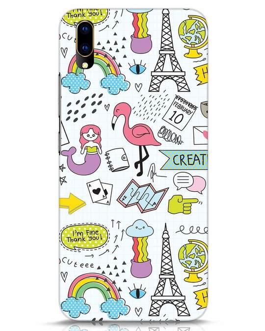 Shop Doodle Vivo V11 Pro Mobile Cover-Front