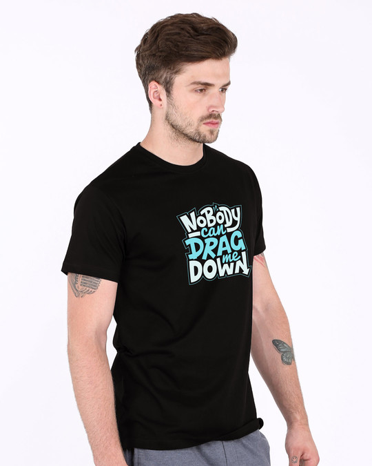 Shop Drag Me Down Half Sleeve T-Shirt-Full