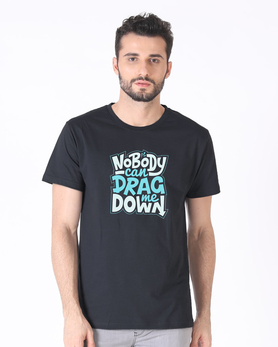 Shop Drag Me Down Half Sleeve T-Shirt-Back