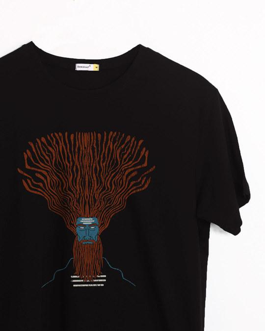 Shop Dreads Half Sleeve T-Shirt-Front