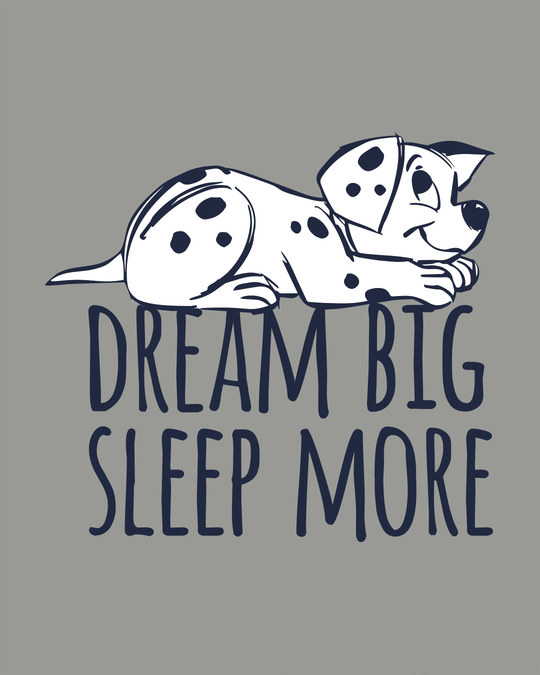 Shop Dream Big Dalmatian Boyfriend T-Shirt (DL)
